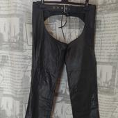 (1773)ЧАПСЫ кожаные, размер  XL.