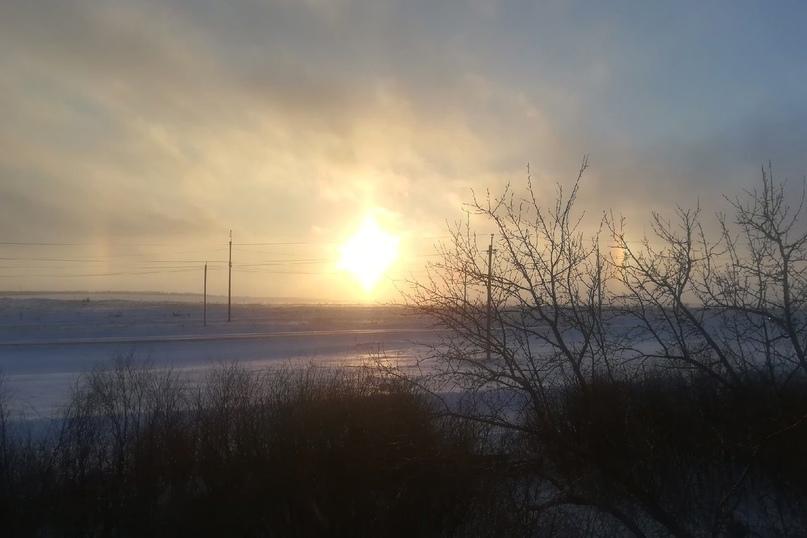 Солнце в радуге. Жители Оренбуржья наблюдали редкое явление