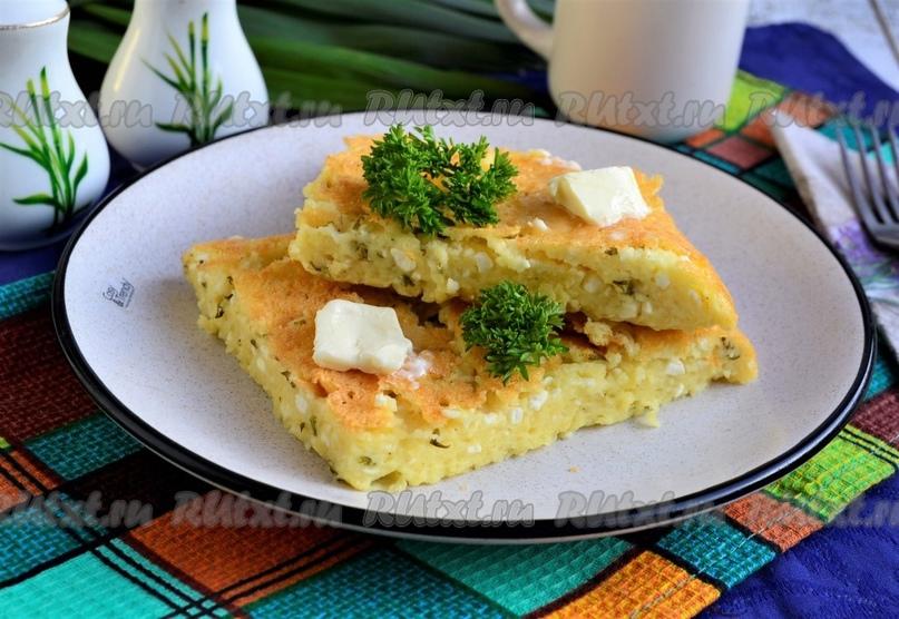 Ленивое хачапури с творогом в духовке от Елены Калининой