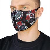 Многоразовая неопреновая маска Hardcore Training Santa Muerte