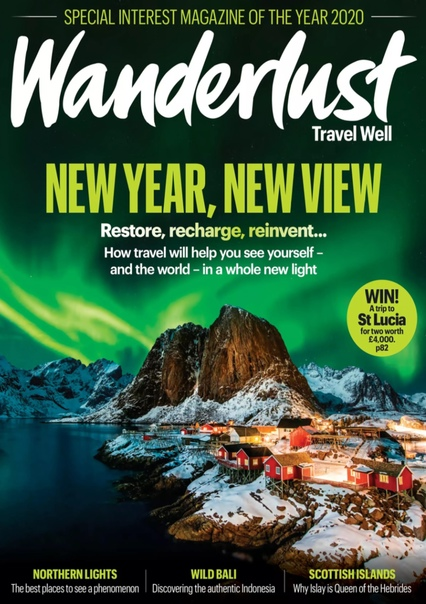 Wanderlust Travel Magazine  - January February 2021 UserUpload.Net