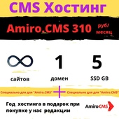 "Хостинг для Amiro.CMS Тариф ""Тариф Amiro.CMS"""