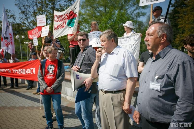Независимые профсоюзы хотели провести в Минске митинг на 1 мая. Что ответил Мингорисполком