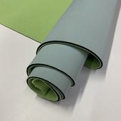 №117 уцененный отрез дл. 0,66м. неопрена ELITE, толщ. 3 мм., цвет: голубо-мятный/светло-зелёный
