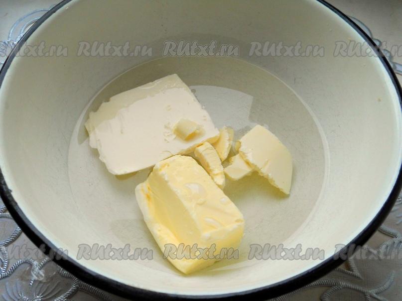 Заварные пирожные с белковым кремом от Елены Калининой