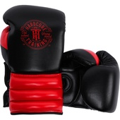 Боксерские перчатки Hardcore Training GRT1 Boxing Gloves Black/Red