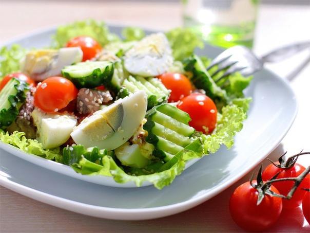 ????6 простых белковых салатиков к ужину! ????  Сохрани себе...