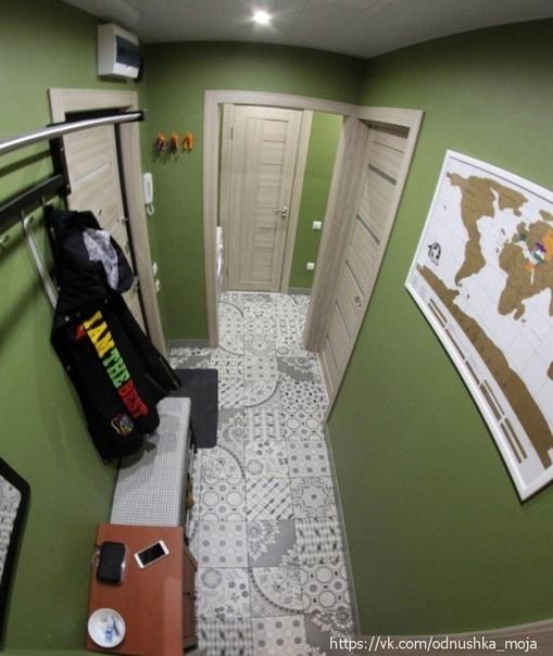 Процесс преображения входной зоны квартиры своими руками В результате...