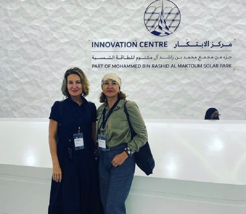 Наталья Ибрагимова изучает опыт переработки мусора в Дубае
