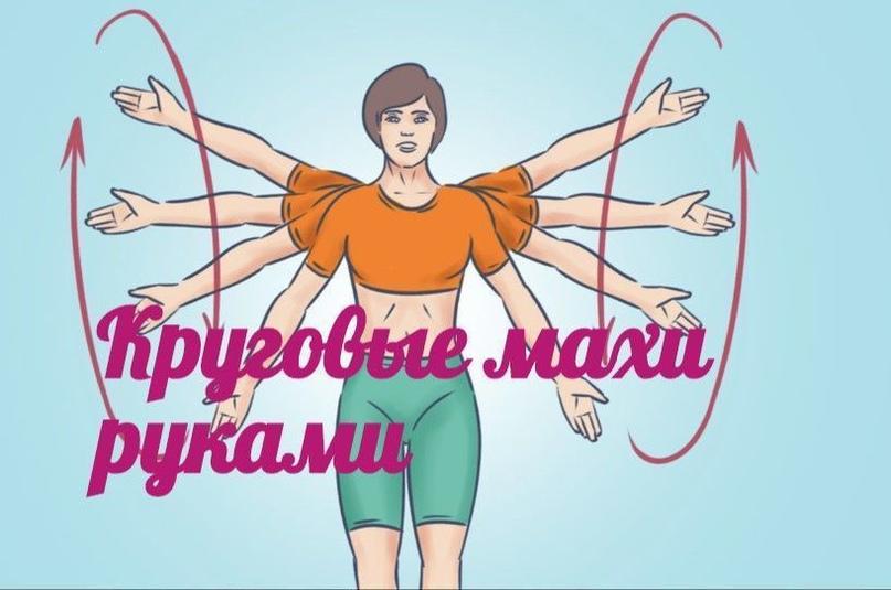 Упражнение, которое поможет избавиться от многих проблем. Круговые махи руками.