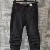 (1976)Мотоштаны кожаные, размер S.