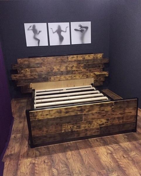 """Работа нашего подписчика: """"Жена захотела новую кровать, я сделал...."""