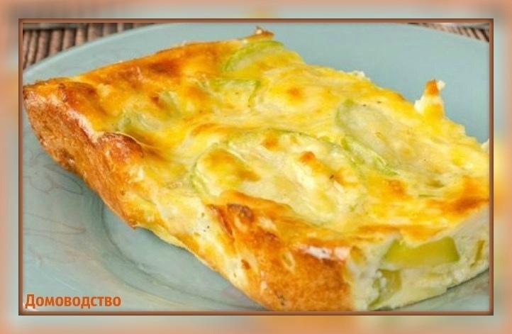 Простая в приготовлении запеканка из кабачков с плавленым сыром непременно порад...