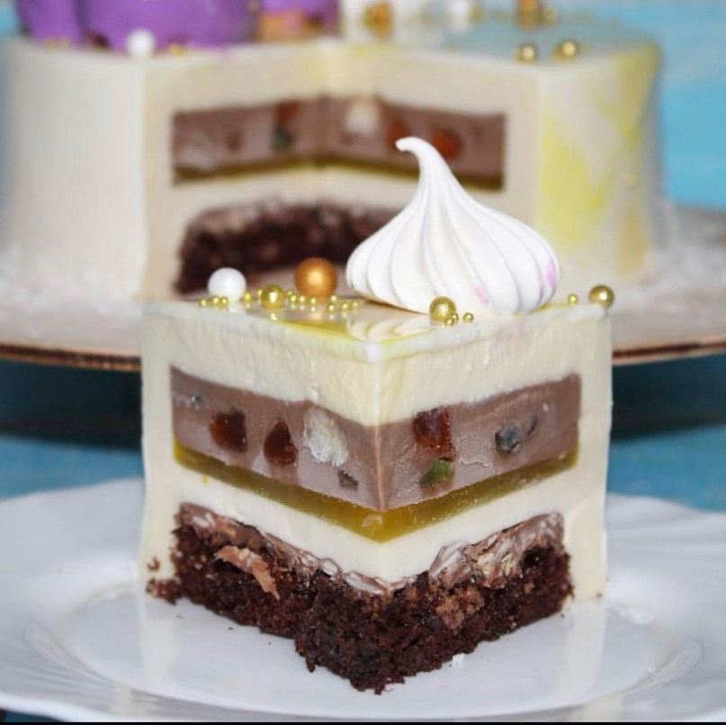 РЕЦЕПТ Муссовый торт «Шоколад – Лимон»🍰