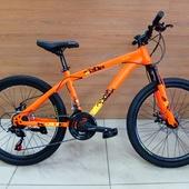 "Велосипед VELTORY 4008 SCAT Disc (2021) 24"" Оранжевый NEON"