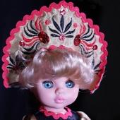 Кукла Эля Весна Хохломская красавица
