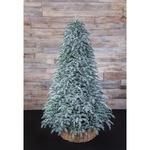 Новогодняя елка Triumph Tree Нормандия Пушистая полностью литая 155 см заснеженная