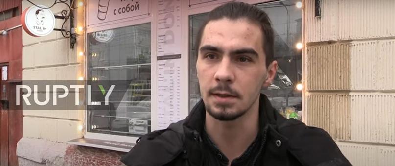 Оренбуржца Станислава Вольтмана опять задержали в Москве из-за кафе Stalin Doner