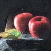 """Натюрморт """"Красные яблоки"""""""