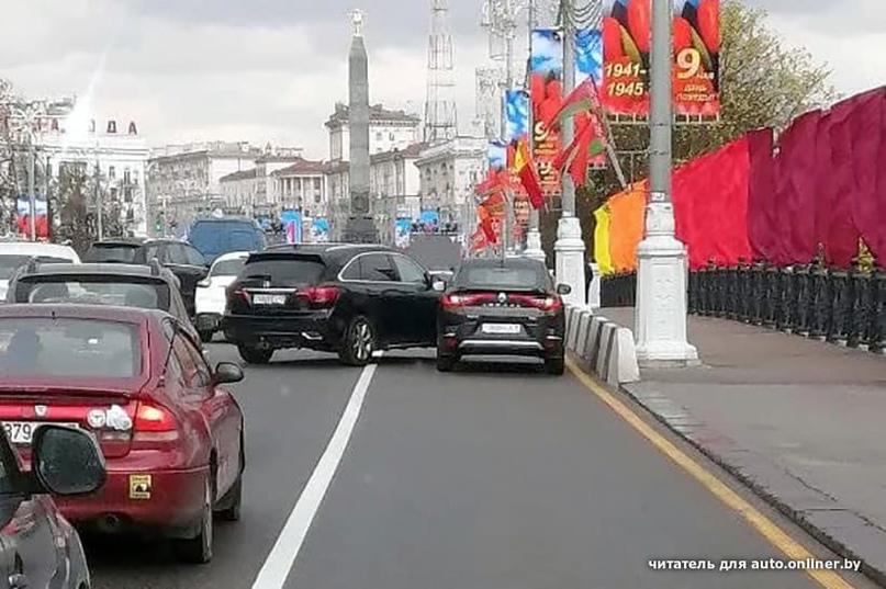 В Минске были 9-балльные пробки