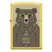 Зажигалка ZIPPO Медведь c с покрытием Lemon™ (под заказ, цена по запросу)