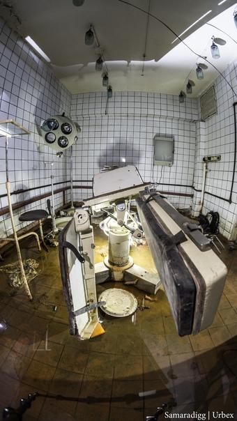 Заброшенная операционная в подземном сооружении госпиталя †  .  .  . ... [читать продолжение]