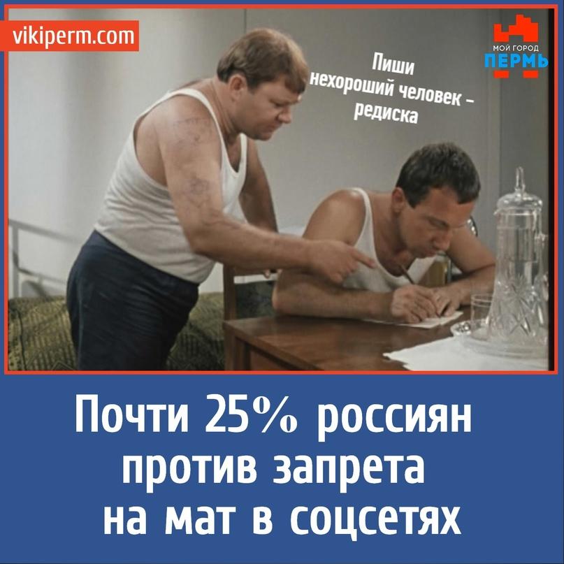 Почти 25% россиян против запрета на мат в соцсетях