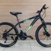 """Велосипед VELTORY 4008 SCAT Disc (2021) 24"""" Чёрный"""