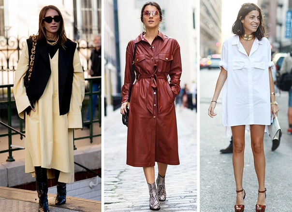 Почему платья-рубашки — тренд на все времена?