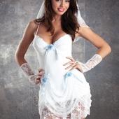 Сексуальный костюм невесты