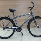 "Велосипед ALTAIR CITY HIGH 28"" (2021)Темно-серый/Серебристый"
