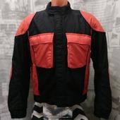 (О238)Мотокуртка текстиль, размер L