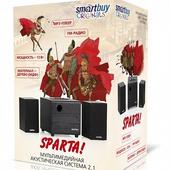 Колонки 2.1 SmartBuy SPARTA