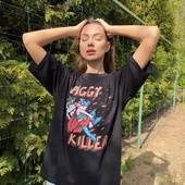 Футболка Piggy the killer «ЛСП»