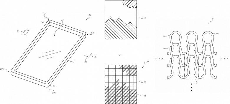 Apple выдали патент на чехлы для электронных устройств из ткани, изготавливаемой...