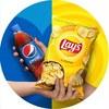Лето вкуснее с Pepsi и Lay's