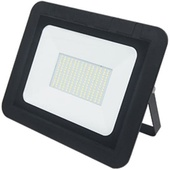 Прожектор светодиодный Ecola Projector LED 100,0W 220V 6000K IP65 тонкий Черный 280x250x30