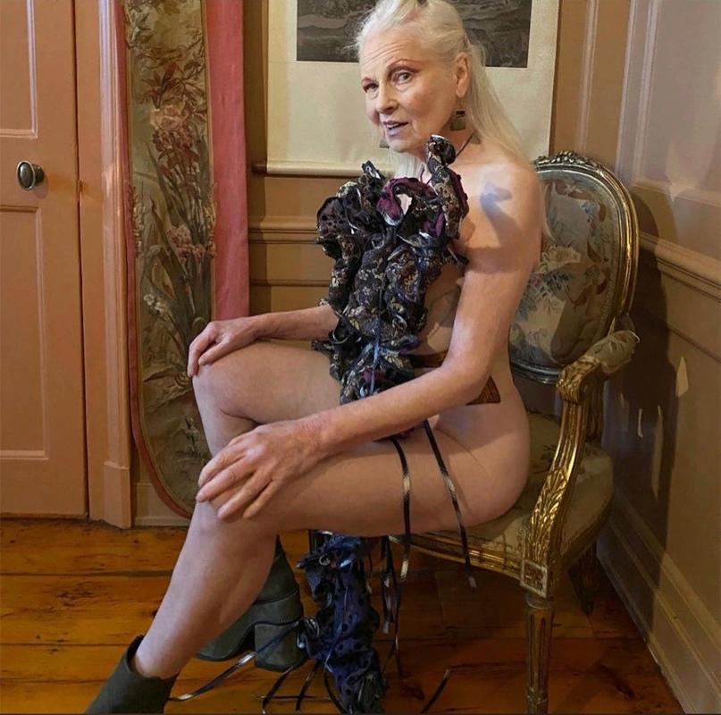 79-летняя Вивьен Вествуд снялась полуобнаженной