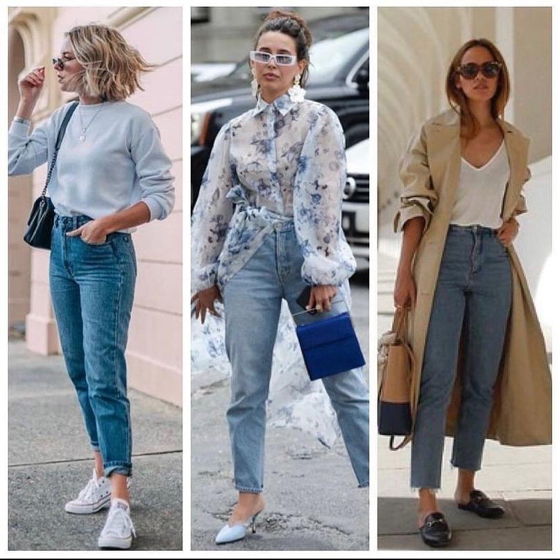 Самые любимые джинсы MOM FIT