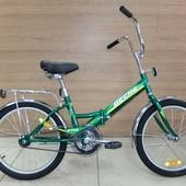 """Велосипед Десна 2100 20"""" Зеленый"""