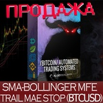 SMA-BOLLINGER TRAILING STOP BTCUSD (SWING SYSTEM)