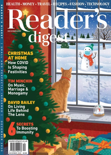 Readers Digest UK - December 2020 UserUpload.Net