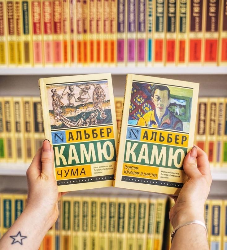Книга Альбера Камю, но не «Чума» 📚