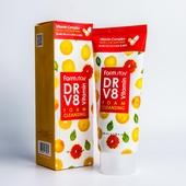 FarmStay Очищающая пенка с комплексом витаминов  Dr-V8 Vitamin Foam Cleansing