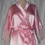 Халат нежно-розовый