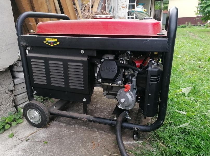 Двухтопливный карбюратор с редуктором LPG 168 для генератора