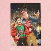А4 постер-открытка - Нишинойя и Танака