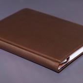 Ежедневник недатированный A5 коричневый