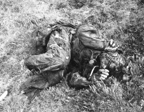 Найденный через 55 лет после гибели советский летчик Борис Александрович Лазарев...