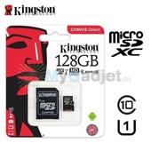 Карта памяти Kingston Canvas Select microSDXC 128GB + адаптер